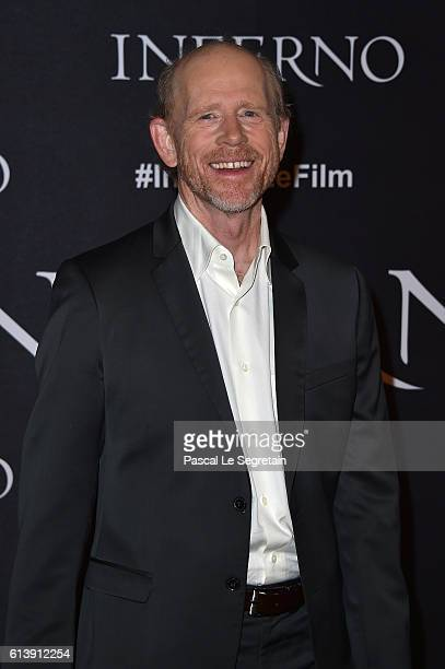 Ron Howard attends the 'Inferno' Paris photocall at Hotel Bristol on October 11 2016 in Paris France