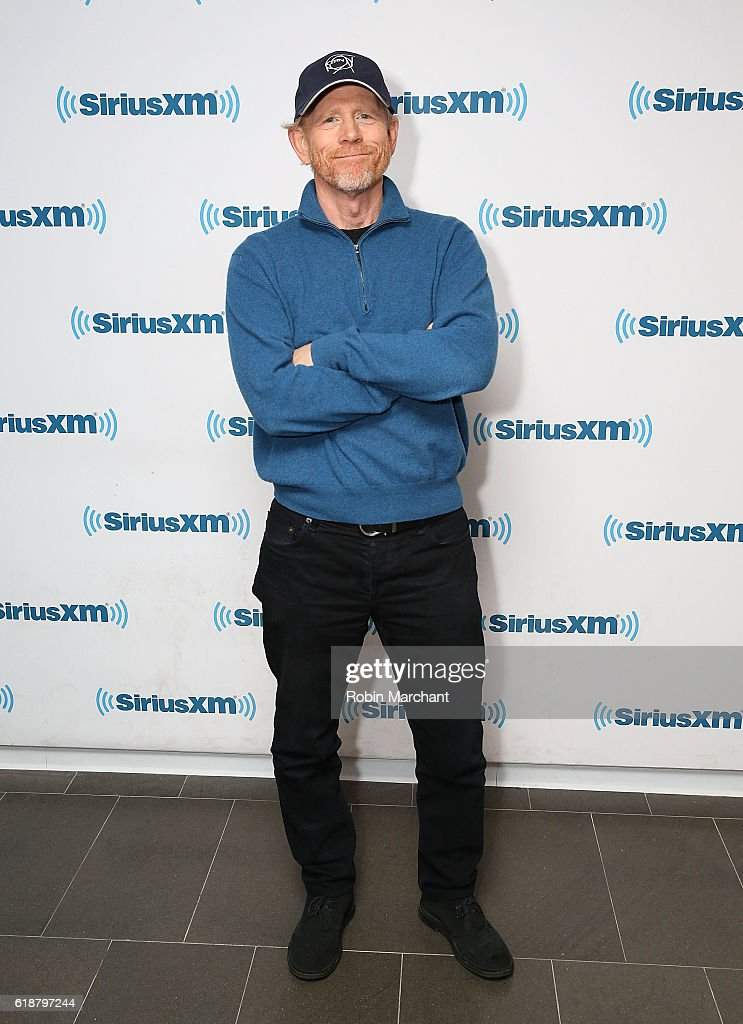 Ron Howard visits at SiriusXM Studio on October 28, 2016 in New York City.