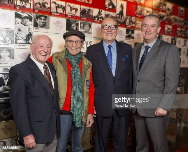 Ron Hutchinson JJ Miller Lloyd Williams and Greg Carpenter at National Sports Museum on May 17 2017 in Melbourne Australia