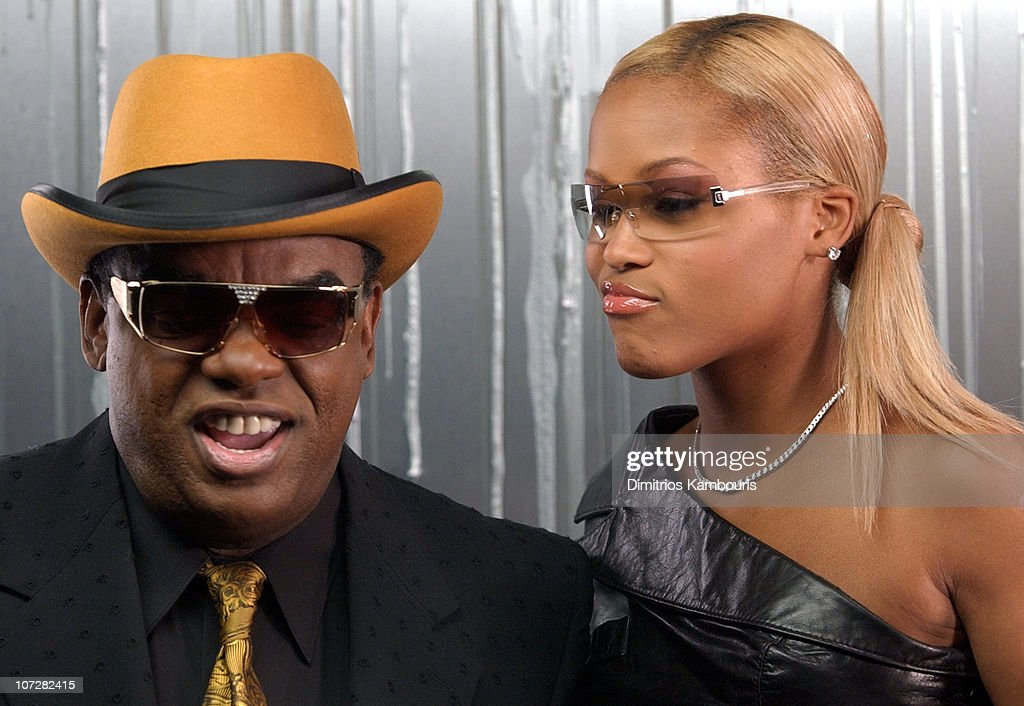 Ron Isley & Eve during Swizz Beatz 'Bigger Business' Video Shoot Featuring Swizz, Cassidy, P. Diddy, Jadakiss, Baby, Ron Isley, Busta Rhymes and Snoop Dogg at Broadway Stages in Greenpoint, New York, United States.