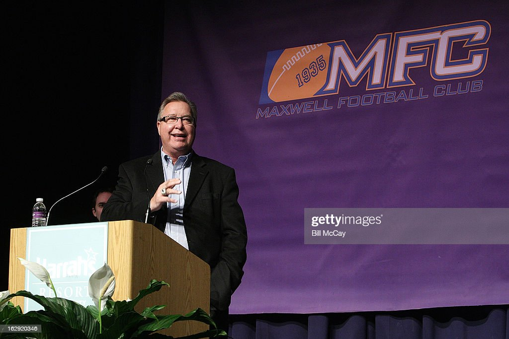 <a gi-track='captionPersonalityLinkClicked' href=/galleries/search?phrase=Ron+Jaworski&family=editorial&specificpeople=544737 ng-click='$event.stopPropagation()'>Ron Jaworski</a> attends the 76th Annual Maxwell Football Club Awards Dinner Press Conference on March 1, 2013 in Atlantic City, New Jersey.