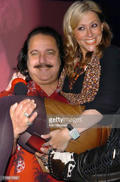 Ron Jeremy and Nicole Appleton during 'Hell's Kitchen 2' Day 8 Arrivals in London Great Britain