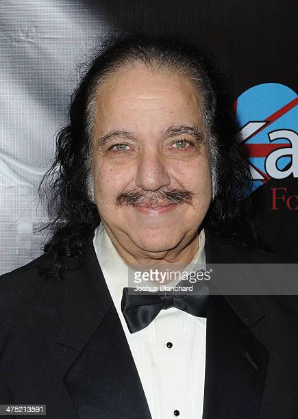 Ron Jeremy arrives at The 7th Annual TOSCARS Awards Show at the Egyptian Theatre on February 26 2014 in Hollywood California
