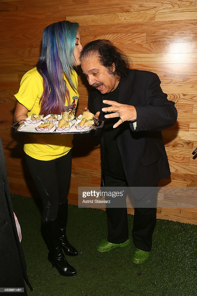 Ron Jeremy attends 'Mob Wives' Season 4 premiere at Greenhouse on December 5, 2013 in New York City.