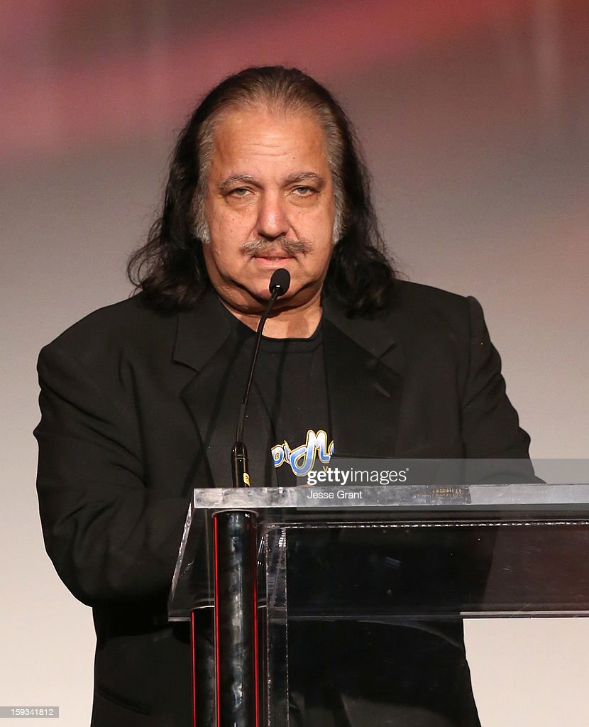 Ron Jeremy attends the 2013 XBIZ Awards at the Hyatt Regency Century Plaza on January 11, 2013 in Los Angeles, California.