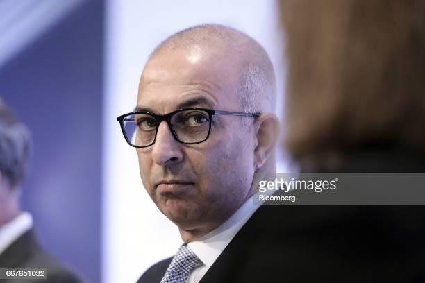 Ron Kalifa vice chairman of Worldpay Group Plc looks on during the International Fintech Conference in London UK on Wednesday April 12 2017 Bank of...