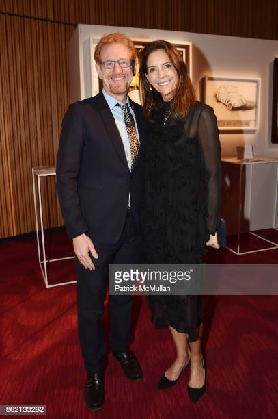 Ron Kaplan and Nicolette Donen attend the NYSCF Gala Science Fair at Jazz at Lincoln Center on October 16 2017 in New York City