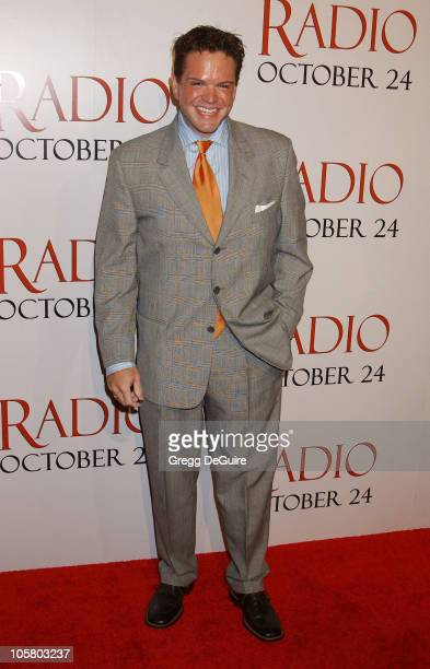 Ron Lester during 'Radio' Premiere Arrivals at Academy Theatre in Beverly Hills California United States