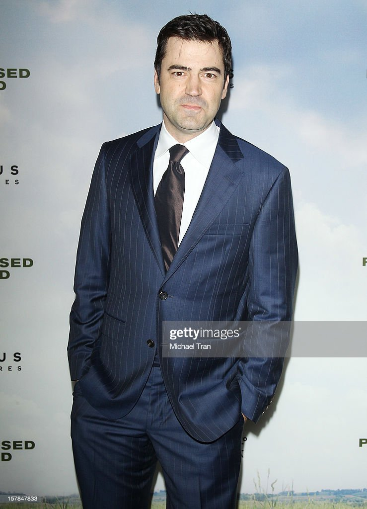 Ron Livingston arrives at the Los Angeles premiere of 'Promised Land' held at Directors Guild Of America on December 6, 2012 in Los Angeles, California.