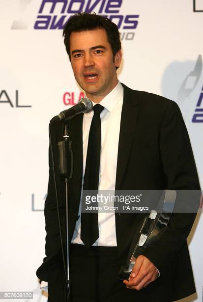 Ron Livingston with the Breakthrough Movie award received for The Time Traveler's Wife at the 2010 National Movie Awards at the Royal Festival Hall...
