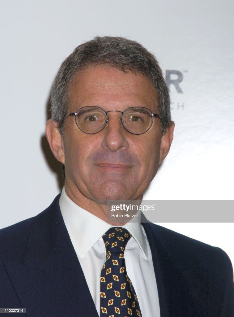 Ron Meyer during amfAR and ACRIA Honor Herb Ritts with a Sale of Contemporary Artwork - Arrivals at Sothebys in New York, New York, United States.