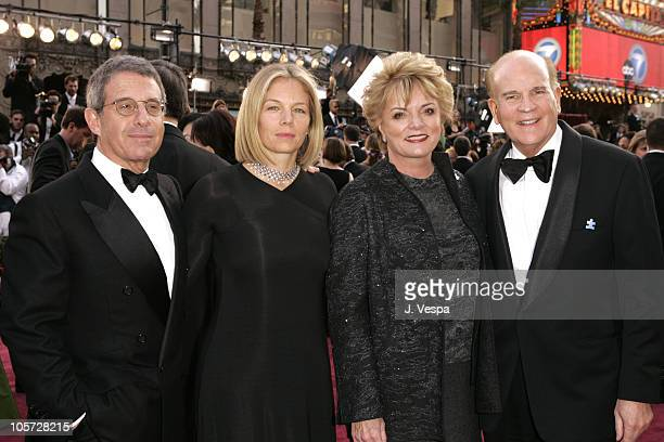 Ron Meyer of Universal wife Kelly Bob Wright of NBC Universal and wife Suzanne
