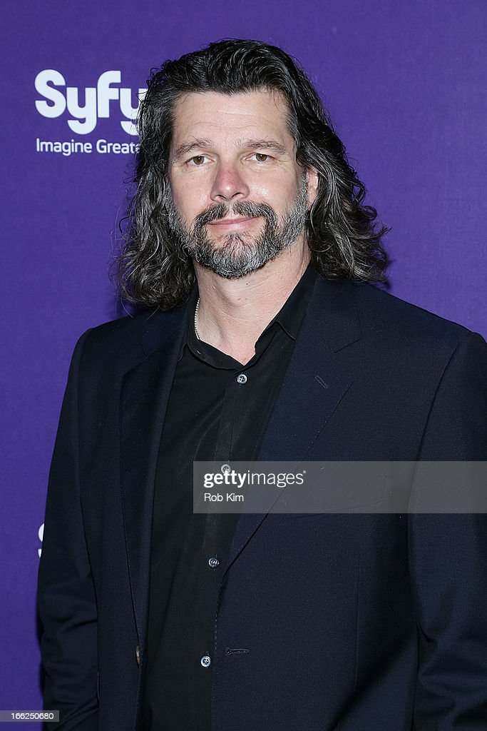 Ron Moore of 'Helix' attends Syfy 2013 Upfront at Silver Screen Studios at Chelsea Piers on April 10, 2013 in New York City.