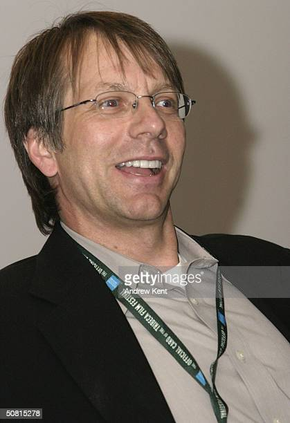 Ron Nyswaner screenwriter speaks at the Unraveling The Code Rosalind Franklin and DNA panel during the 2004 Tribeca Film Festival May 8 2004 in New...