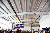 Ron Paul speaks to supporters at a campaign rally during the runup to the NH Primary in Nashua NH January 6 2012