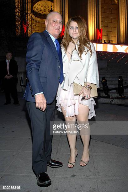 Ron Perelman and Samantha Perelman attend VANITY FAIR Tribeca Film Festival Party hosted by GRAYDON CARTER ROBERT DE NIRO and RONALD PERELMAN at The...