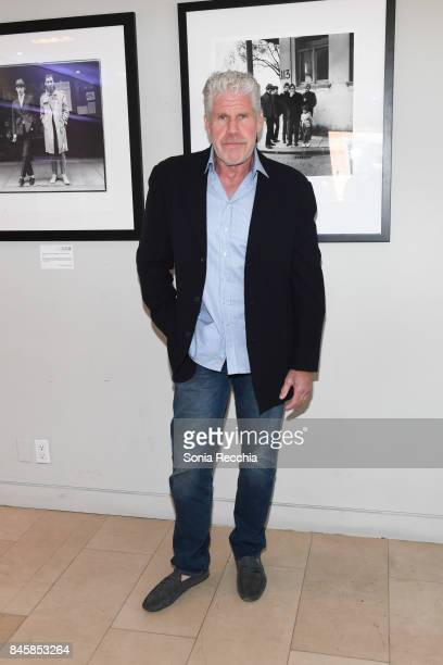 Ron Perlman attends NKPR IT House x Producers Ball With Nylon Magazine and Coveteur Portrait Studios Day 5 on September 11 2017 in Toronto Canada
