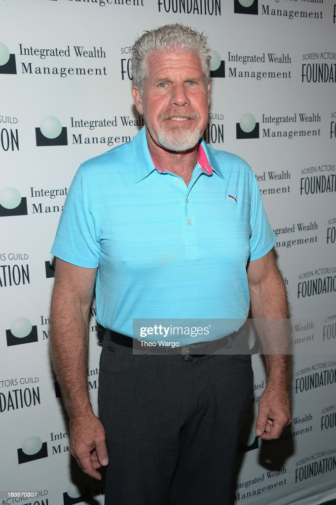 <a gi-track='captionPersonalityLinkClicked' href=/galleries/search?phrase=Ron+Perlman+-+Actor&family=editorial&specificpeople=208159 ng-click='$event.stopPropagation()'>Ron Perlman</a> attends the Screen Actors Guild Foundation Inaugural New York Golf Classic at Trump National Golf Club Westchester on October 7, 2013 in Briarcliff Manor, New York.