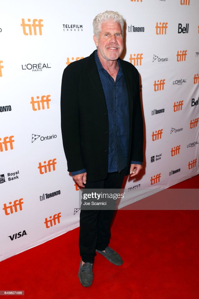 Ron Perlman attends 'The Shape of Water' premiere during the 2017 Toronto International Film Festival at The Elgin on September 11, 2017 in Toronto, Canada.