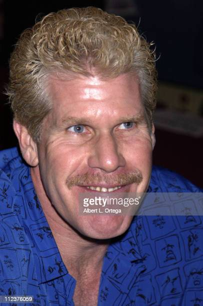 Ron Perlman during DVD Release Signing for 'Blade II' at Dark Delacacies Bookstore in Burbank California United States