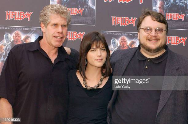 Ron Perlman Selma Blair and Guillermo del Toro director