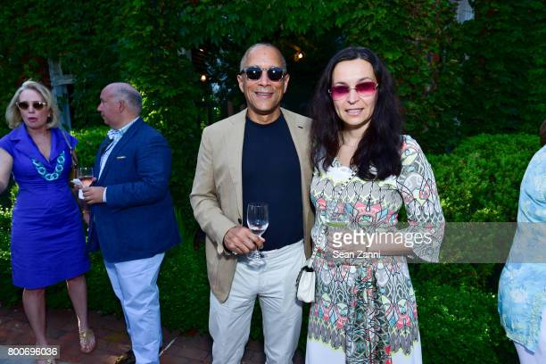 Ron Porter and Milena Porter attend Maison Gerard Presents Marino di Teana A Lifetime of Passion and Expression at Michael Bruno and Alexander...