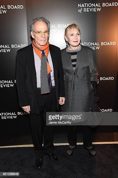 Ron Rifkin and Iva Rifkin attend the 2014 National Board of Review Gala at Cipriani 42nd Street on January 6 2015 in New York City