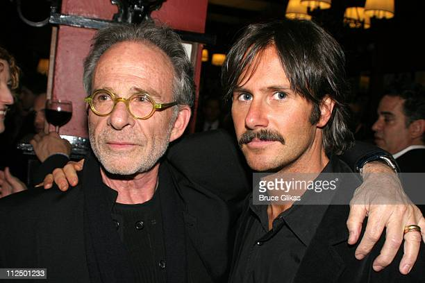 Ron Rifkin and Josh Hamilton during 'Glengarry Glen Ross' Broadway Opening Night Curtain Call and After Party at The Royale Theater and Sardi's in...