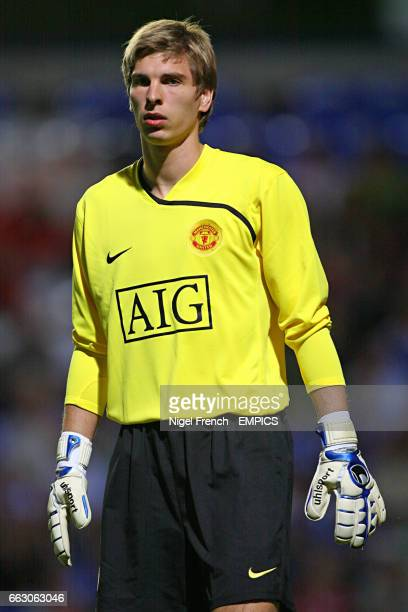 Ron Robert Zieler Manchester Untied goalkeeper