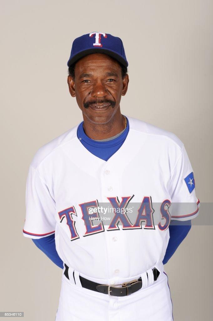 Ron Washington of the Texas Rangers during photo day at Surprise Stadium on February 24 2009 in Surprise Arizona