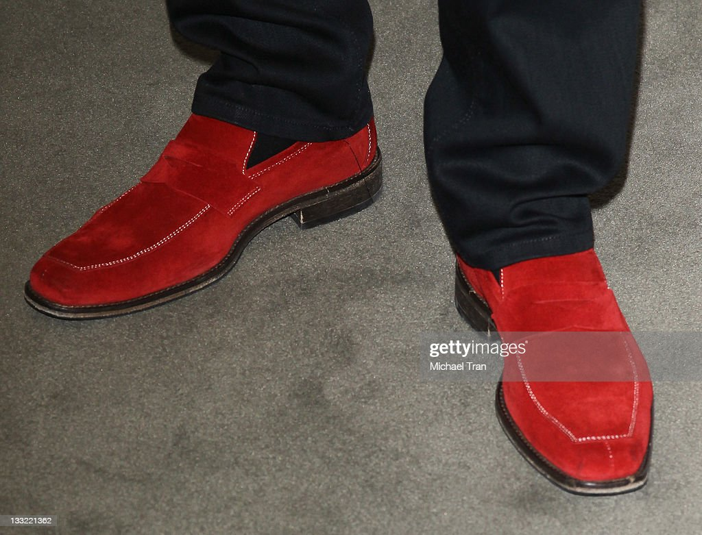 Ron White (shoe detail) attends his shoe collection launch and charity event held at Nordstrom at the Grove on November 17, 2011 in Los Angeles, California.