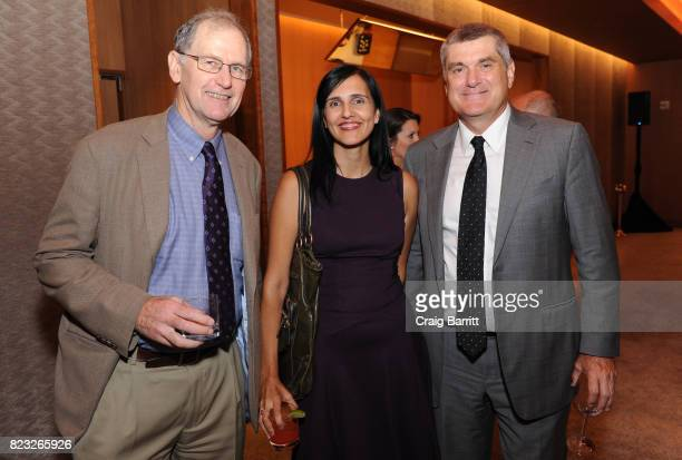 Ron Winslow of Wall Street Journal/STAT Ushma Neill of Journal of Clinical Investigation and President/CEO Memorial Sloan Kettering Cancer Center Dr...