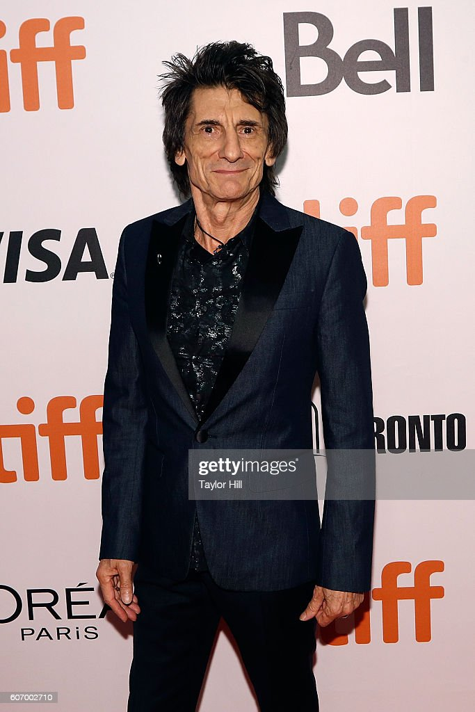 Ron Wood attends the premiere of 'The Rolling Stones: Ole Ole Ole: A Trip Across Latin America' during the 2016 Toronto International Film Festival at Roy Thomson Hall on September 16, 2016 in Toronto, Canada.