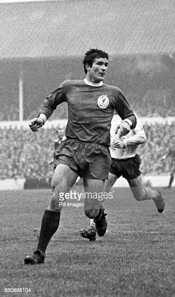 Ron Yeats centrehalf and captain of Liverpool FC