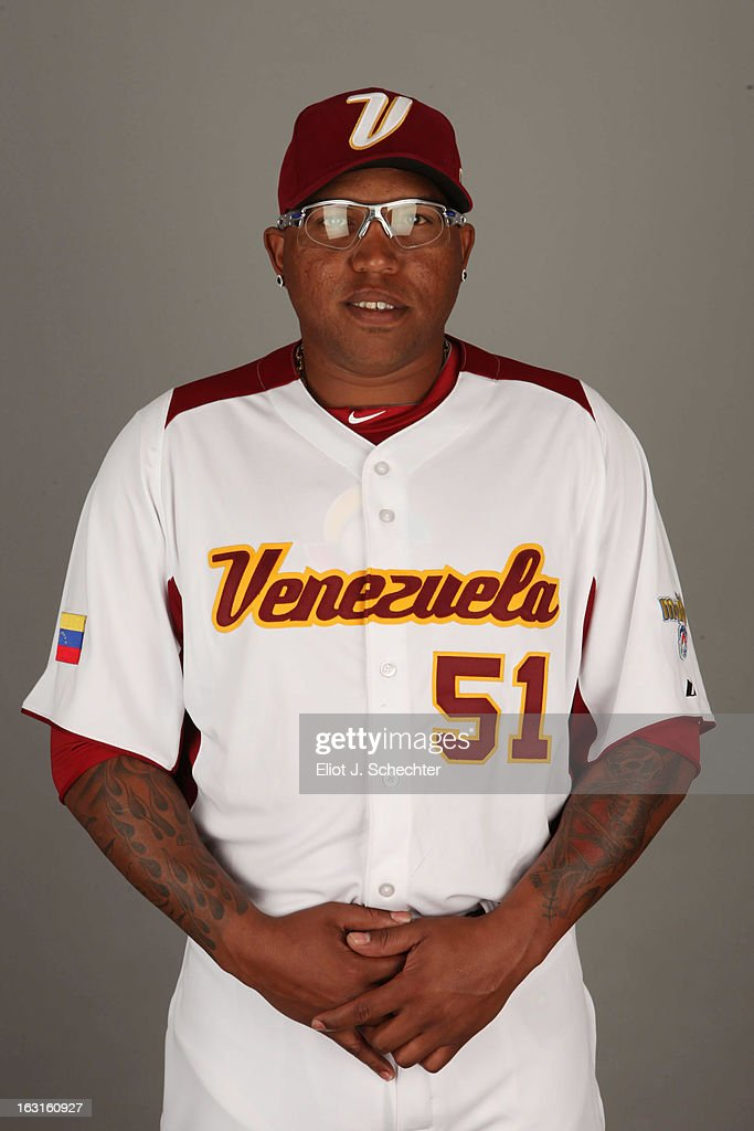 Ronald Belisario #51 of Team Venezuela poses for a headshot for the 2013 World Baseball Classic at Roger Dean Stadium on Monday, March 4, 2013 in Jupiter, Florida.