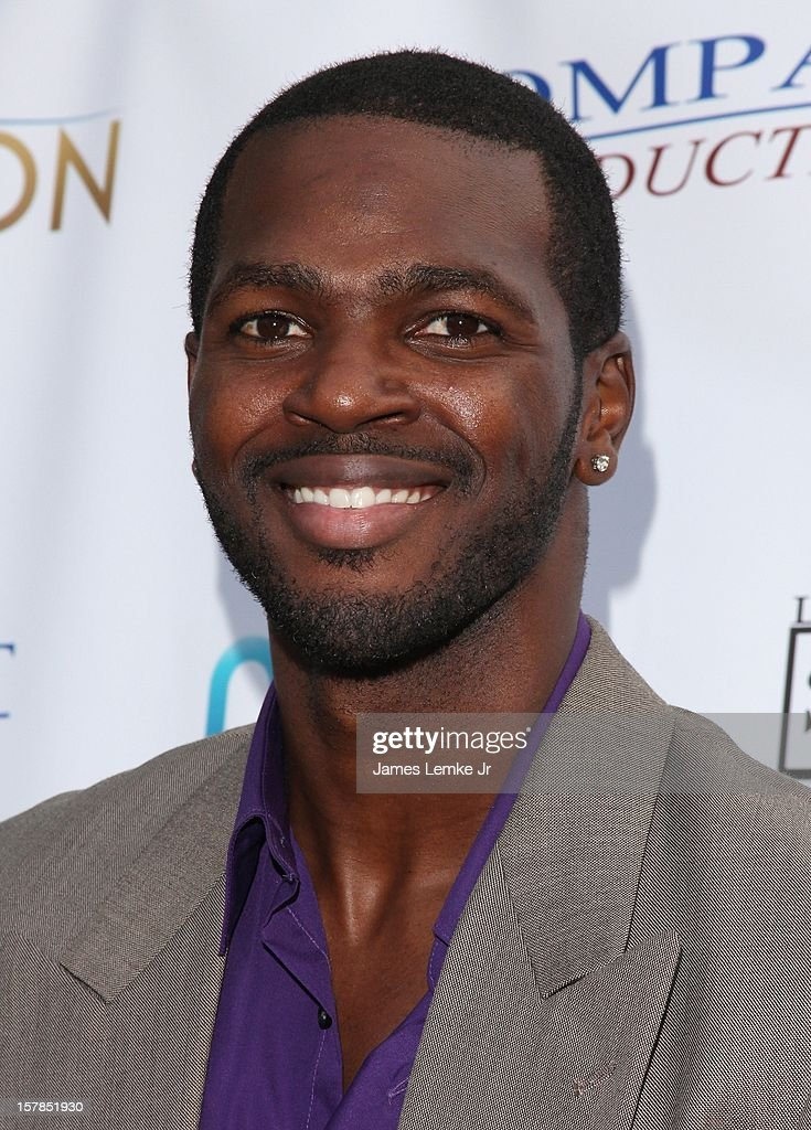 Ronald Brown attends the 'Edge Of Salvation' Los Angeles Premiere held at the ArcLight Sherman Oaks on December 6, 2012 in Sherman Oaks, California.