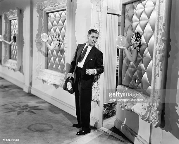 Ronald Colman as Beauregard Bottomley in the 1950 comedy Champagne for Caesar