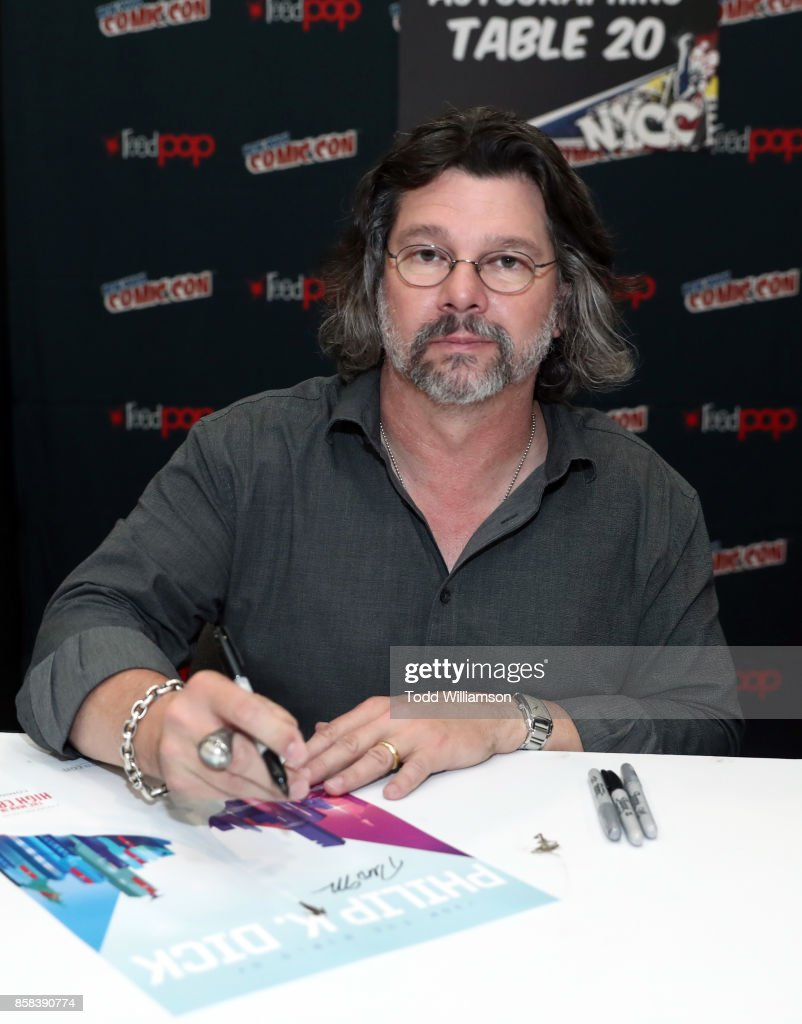 Ronald D. Moore attends 'The World of Philip K. Dick' - The Man in the High Castle and Philip K. Dick's Electric Dreams Panel at Hammerstein Ballroom on October 6, 2017 in New York City.