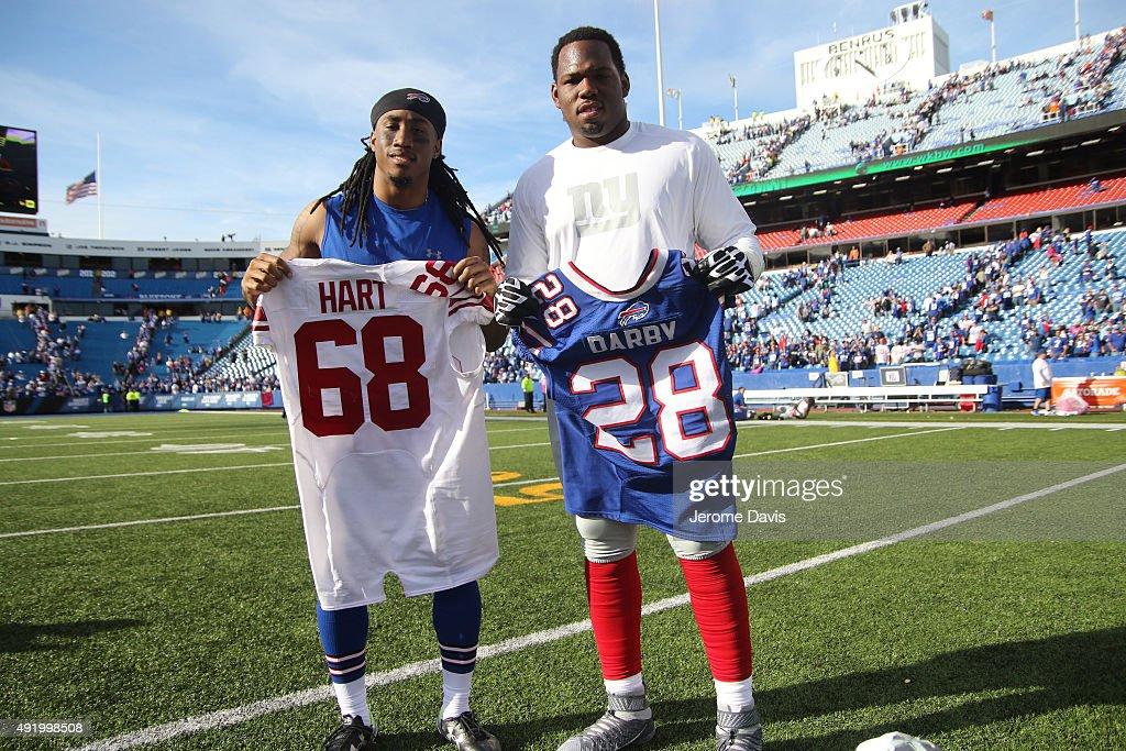 nfl New York Giants Bobby Hart GAME Jerseys