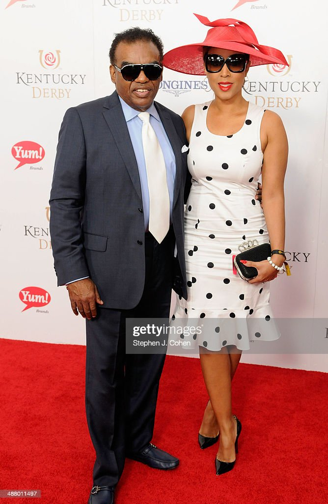 Ronald Isley (L) and Kandy Johnson Isley attend 140th Kentucky Derby at Churchill Downs on May 3, 2014 in Louisville, Kentucky.