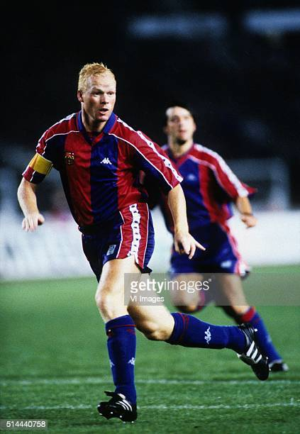 Ronald Koeman in action for FC Barcelona during the season 1993/1994