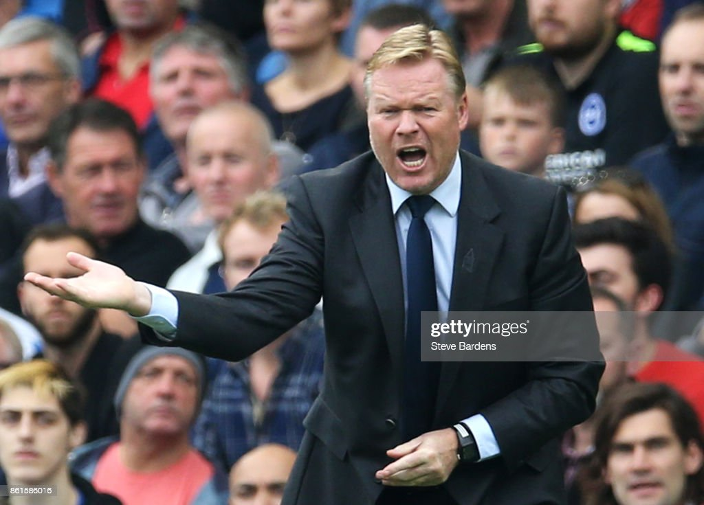 Ronald Koeman sacked as Everton manager