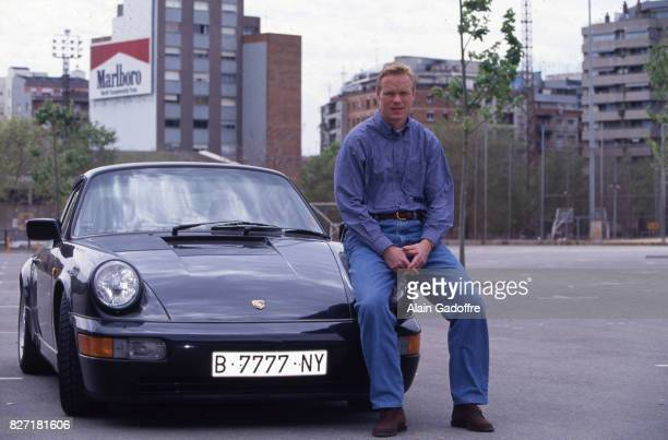 Ronald Koeman of Barcelona during a photoshoot on April 1 1994 in Barcelona France