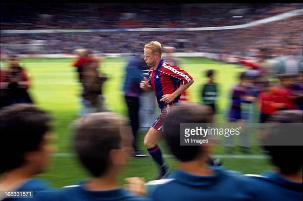 Ronald Koeman of Barcelona during the a match of Barcelona