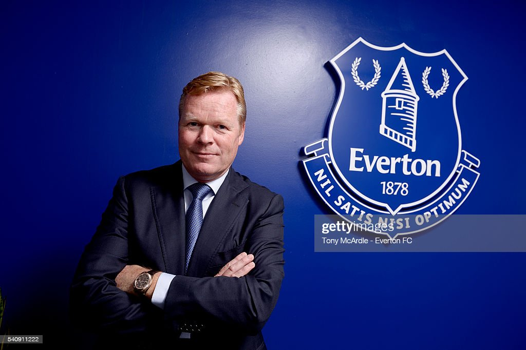New Everton Manager Ronald Koeman Press Conference