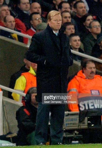 Ronald Koeman PSV Eindhoven manager