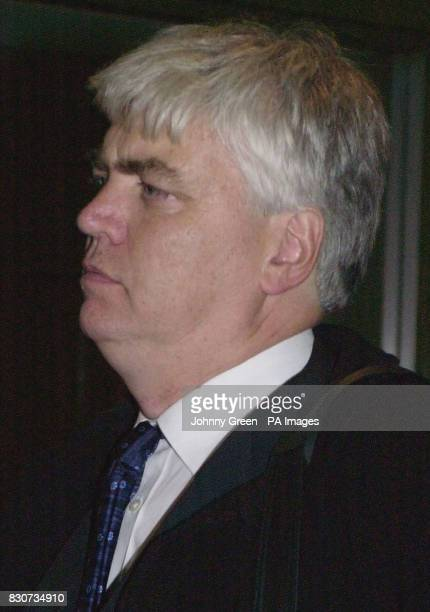 Ronald Ludgate former acting Director of Social Services at Brent Council leaves Hannibal House in south London following his testimony at the public...