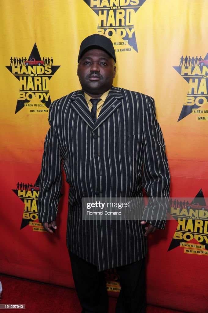 Ronald McCowan attends the 'Hands On A Hard Body' Broadway Opening Night After Party at Roseland Ballroom on March 21, 2013 in New York City.