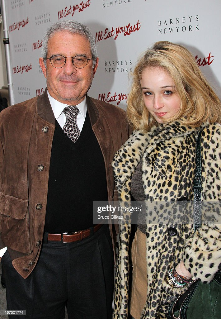 Ronald Meyer and Jennifer Meyer attend the 'I'll Eat You Last: A Chat With Sue Mengers' Broadway opening night at The Booth Theater on April 24, 2013 in New York City.