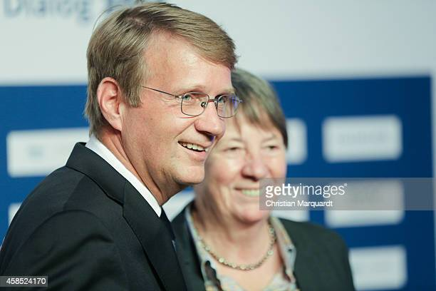 Ronald Pofalla and Environment Minister Barbara Hendricks attend the annual 'ARD Capital Meeting ARDHauptstadttreff' on November 6 2014 in Berlin...